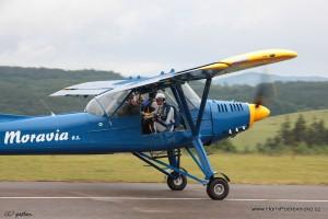 Dětský a aviatický den 2012
