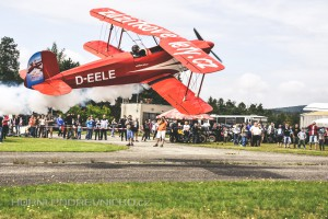 Rok 2016 na letišti. Jubilejní Gulášfest, letecká show, čtyřkolky i velká drakiáda