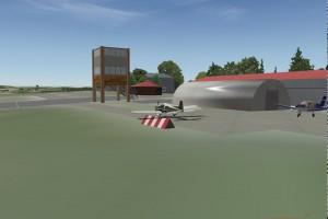 Vizualizace Letiště Bílá Hlína